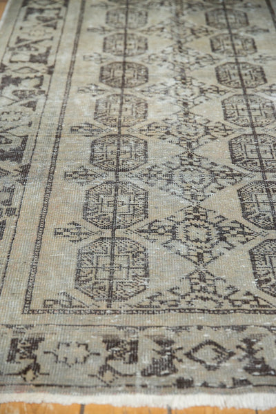 Vintage Distressed Oushak Rug Runner / Item ee003212 image 11