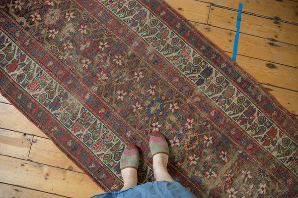 Antique Kurdish Rug Runner / Item ee003224 image 2