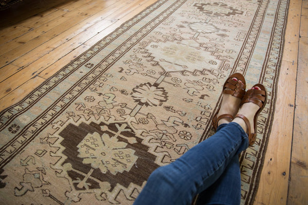 Vintage Distressed Serab Rug Runner / Item ee003397 image 2