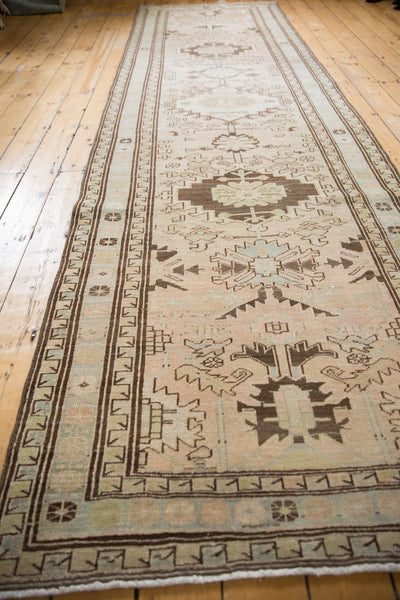 Vintage Distressed Serab Rug Runner / Item ee003397 image 5
