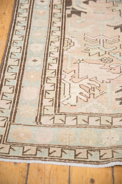 Vintage Distressed Serab Rug Runner / Item ee003397 image 10