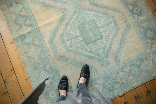 Vintage Distressed Afshar Carpet / Item ee003399 image 2