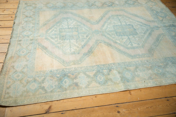Vintage Distressed Afshar Carpet / Item ee003399 image 3