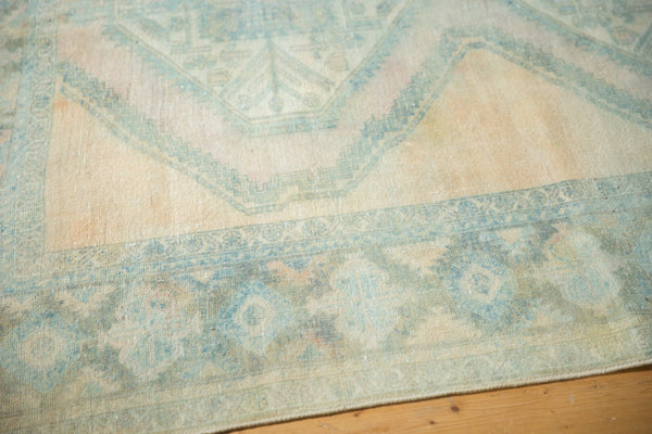 Vintage Distressed Afshar Carpet / Item ee003399 image 4