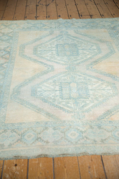 Vintage Distressed Afshar Carpet / Item ee003399 image 5