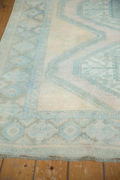 Vintage Distressed Afshar Carpet / Item ee003399 image 6