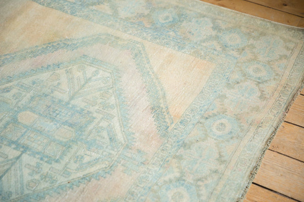 Vintage Distressed Afshar Carpet / Item ee003399 image 7