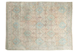 Vintage Distressed Afshar Rug