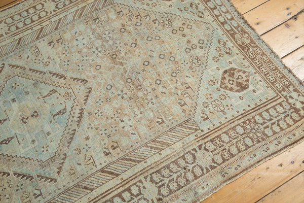 Vintage Distressed Shiraz Rug / Item ee003401 image 6