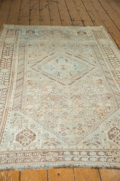 Vintage Distressed Shiraz Rug / Item ee003401 image 7