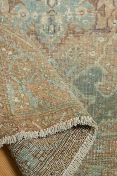 Vintage Distressed Heriz Rug Runner / Item ee003496 image 8