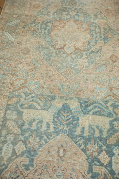 Vintage Distressed Heriz Rug Runner / Item ee003496 image 10