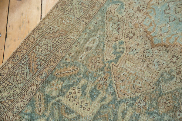 Vintage Distressed Heriz Rug Runner / Item ee003496 image 14