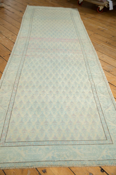 Vintage Distressed Serbend Rug Runner / Item ee003506 image 3