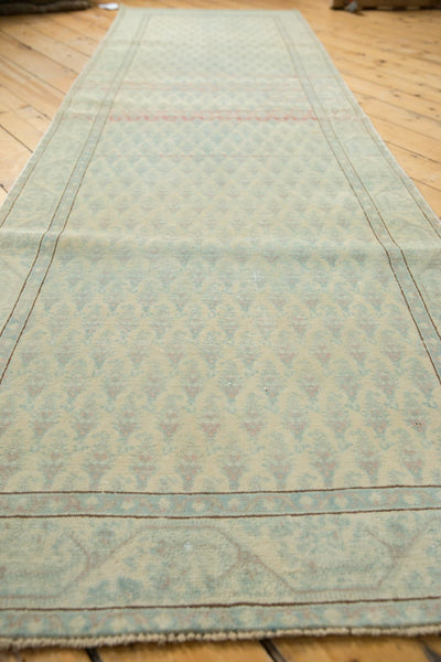 Vintage Distressed Serbend Rug Runner / Item ee003506 image 6