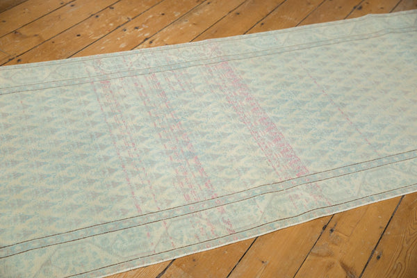 Vintage Distressed Serbend Rug Runner / Item ee003506 image 10