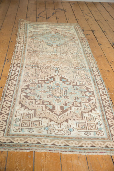 Vintage Distressed Serab Rug Runner / Item ee003508 image 3
