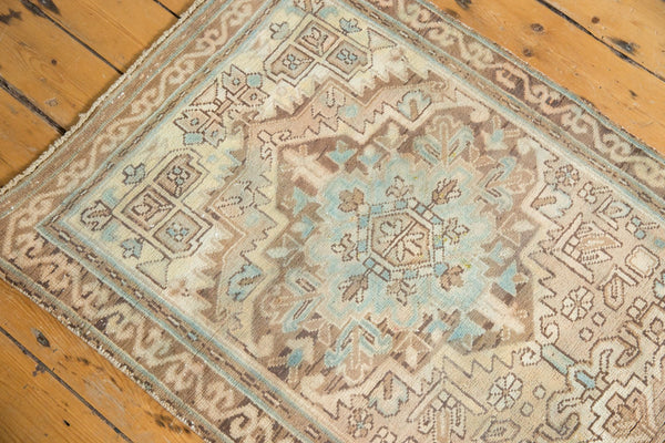Vintage Distressed Serab Rug Runner / Item ee003508 image 6
