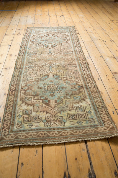 Vintage Distressed Serab Rug Runner / Item ee003508 image 7