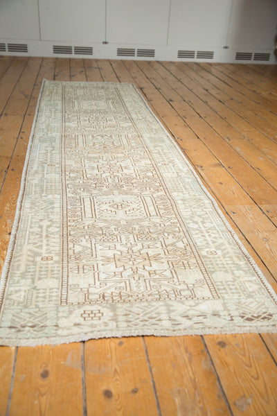 Vintage Distressed Karaja Rug Runner / Item ee003513 image 5