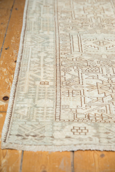 Vintage Distressed Karaja Rug Runner / Item ee003513 image 6
