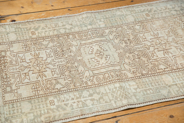 Vintage Distressed Karaja Rug Runner / Item ee003513 image 8
