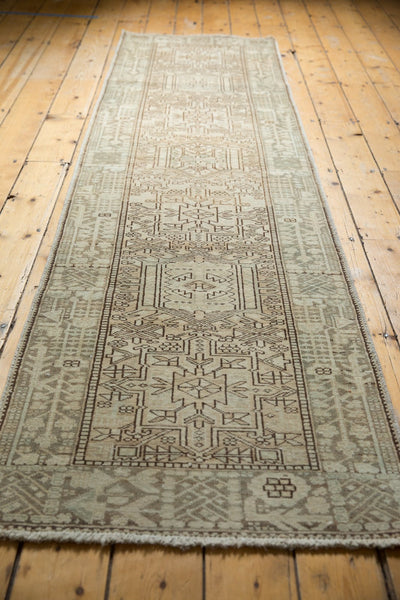 Vintage Distressed Karaja Rug Runner / Item ee003513 image 9