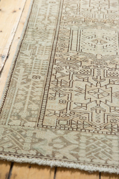 Vintage Distressed Karaja Rug Runner / Item ee003513 image 10