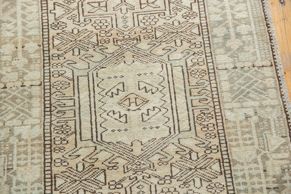Vintage Distressed Karaja Rug Runner / Item ee003513 image 11