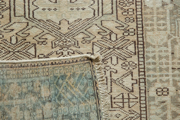 Vintage Distressed Karaja Rug Runner / Item ee003513 image 13