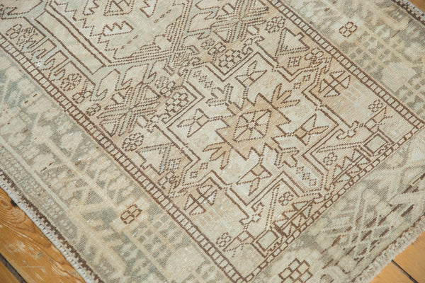 Vintage Distressed Karaja Rug Runner / Item ee003513 image 14