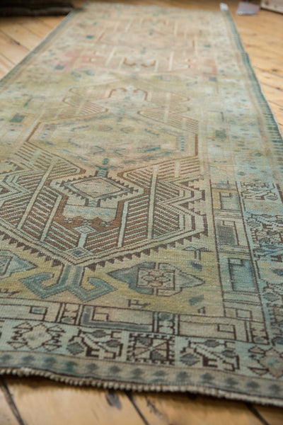 Vintage Distressed Serab Rug Runner / Item ee003515 image 5