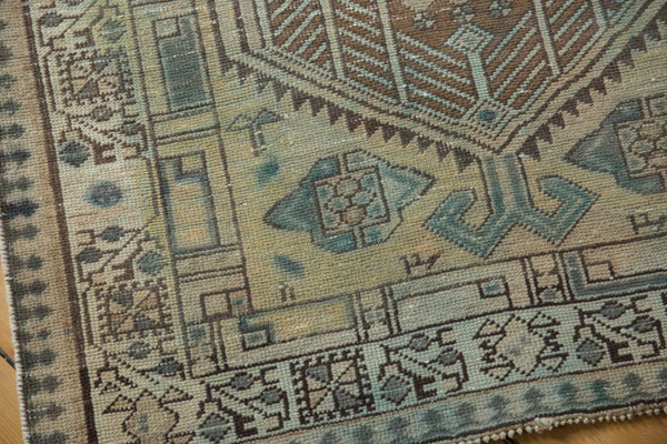 Vintage Distressed Serab Rug Runner / Item ee003515 image 7
