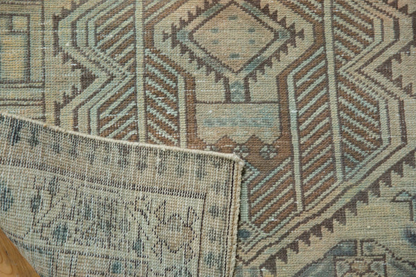 Vintage Distressed Serab Rug Runner / Item ee003515 image 8