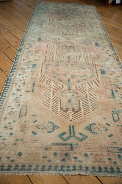 Vintage Distressed Serab Rug Runner / Item ee003515 image 10