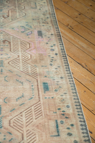 Vintage Distressed Serab Rug Runner / Item ee003515 image 12