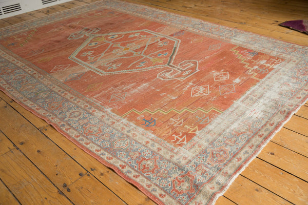 Vintage Distressed Mahal Carpet / Item ee003539 image 3