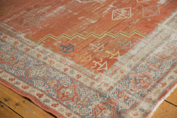 Vintage Distressed Mahal Carpet / Item ee003539 image 4
