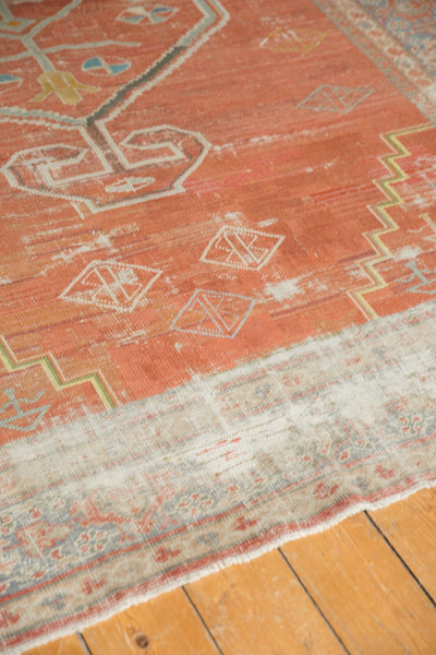 Vintage Distressed Mahal Carpet / Item ee003539 image 5