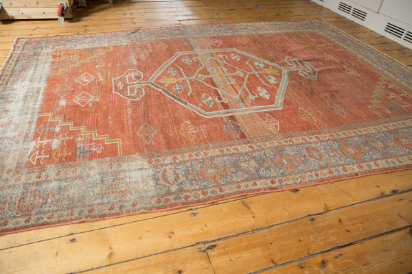 Vintage Distressed Mahal Carpet / Item ee003539 image 7