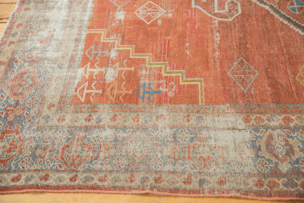 Vintage Distressed Mahal Carpet / Item ee003539 image 8