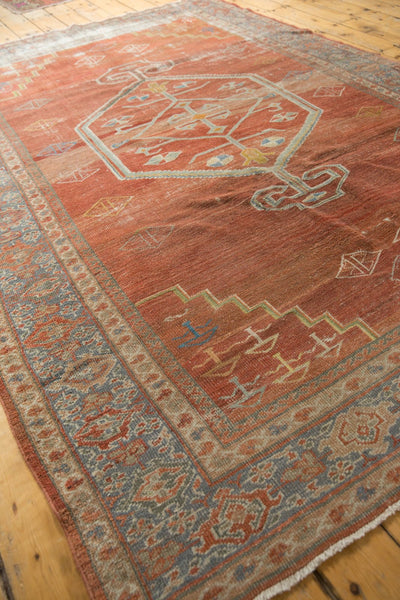 Vintage Distressed Mahal Carpet / Item ee003539 image 10