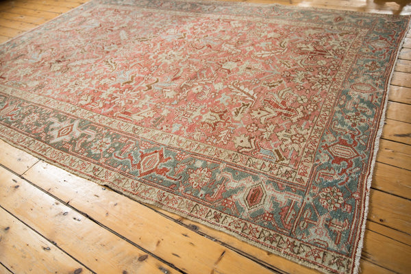 Vintage Distressed Heriz Carpet / Item ee003543 image 3