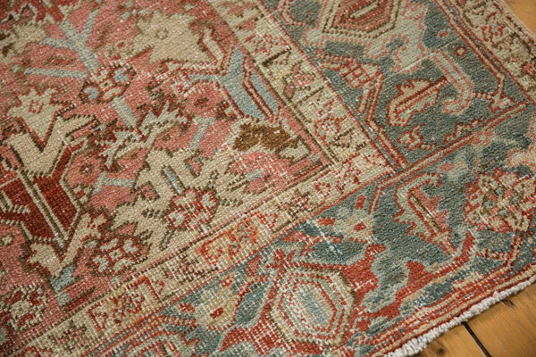 Vintage Distressed Heriz Carpet / Item ee003543 image 6
