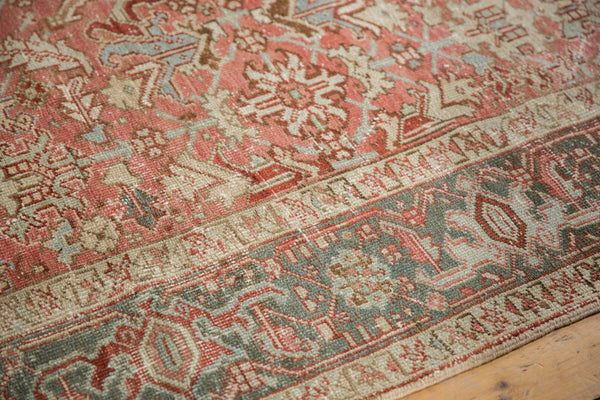 Vintage Distressed Heriz Carpet / Item ee003543 image 9