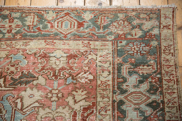 Vintage Distressed Heriz Carpet / Item ee003543 image 10