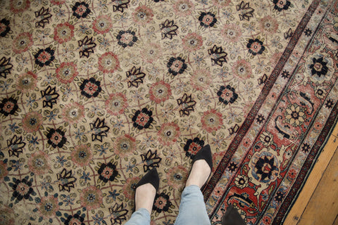 Vintage Distressed Veramin Carpet / ONH item ee003574 Image 1