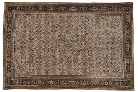 Vintage Distressed Malayer Carpet / ONH item ee003576