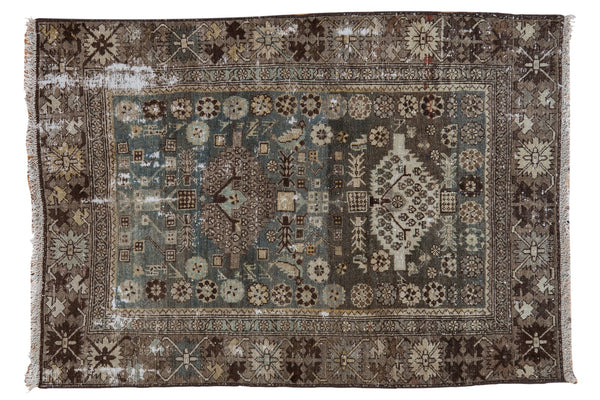 Vintage Distressed Malayer Rug / ONH item ee003582