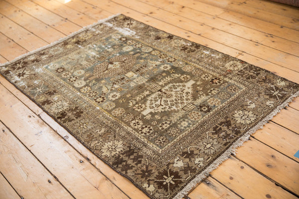 Vintage Distressed Malayer Rug / ONH item ee003582 Image 2